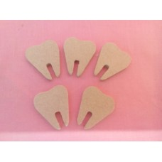 4mm Thick MDF Teeth for fairy doors pack of 10